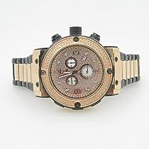 Aqua Master Mens Diamond Two Tone Watch 0.20ct w-146