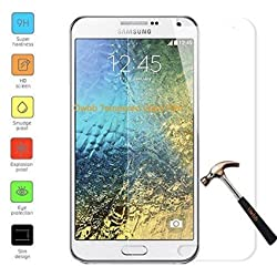 Samsung Galaxy J3 Screen Guard - Kohinshitsu Premium Tempered Glass Screen Protector for Samsung J3 - 0.33mm Protective Oleophopbic Screen Guard - Transparent