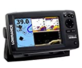 Lowrance Elite-7 Gold CHIRP Fishfinder/Chartplotter with 83/200 KHz and 455/800 KHz Transducer and Navionics Cartography