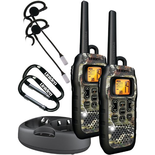 Uniden Submersible 50-Mile GMRS/FRS Two-Way Radios with Charging Kit - Camo (GMR5099-2CKHS) primary