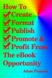 img - for How To Create, Format, Publish, Promote & Profit From The eBook Opportunity book / textbook / text book