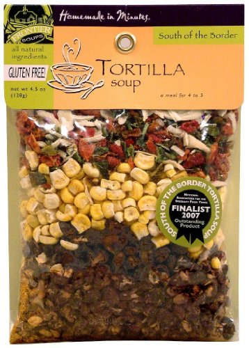 Frontier Soups Homemade in Minutes South Of The Border Tortilla Soup, 4.5 oz, 2 pk (Corn Tortillas Mix compare prices)