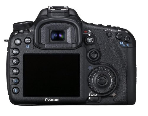 Canon EOS 7D SLR-Digitalkamera (18 Megapixel, 7,6 cm (3 Zoll) LCD-Display, LiveView, FullHD-Movie) inkl. EF-S 18-135mm IS LENS-KIT