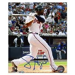 Jason Heyward Atlanta Braves Autographed 8 x 10 Photograph - Mounted Memories...