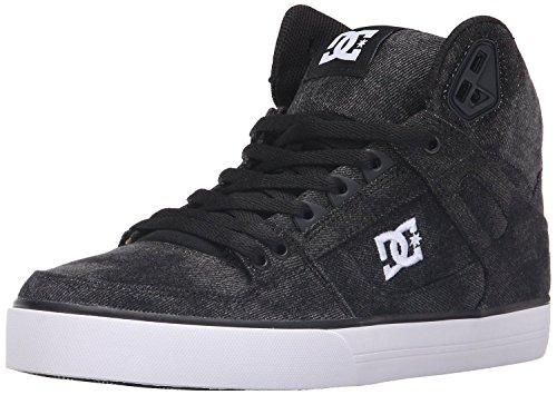 dc-spartan-hi-wc-tx-se-black-denim-mens-skate-trainers-boots-8