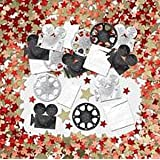 A Hollywood themed party? Film Night? Prom? Hollywood table confetti - 14g Table confetti packs