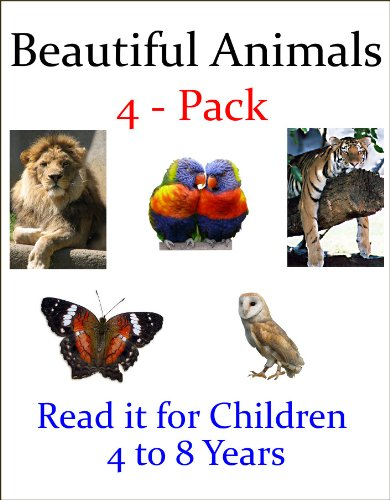 J.R. Whittaker - Beautiful Animals - 4 Pack (Read it books for Children 4 to 8 years) (English Edition)
