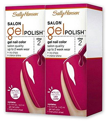 Sally Hansen Salon Gel Polish #210 Back To The Fuchsia - Set Of 2
