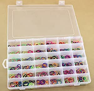 Dcdeal 36 grid clear plastic adjustable craft for Plastic grid sheets crafts