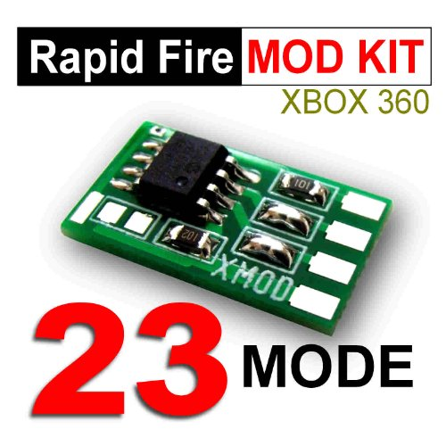Xmod Rapid Fire Kit 23 Mode, Diy Rapid Fire Kit For Xbox 360 Modded Controller,Cod,Black Ops, Ghost - Adjustable, Akimbo, Drop Shot
