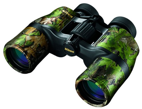 Nikon 8256 Aculon A211 8 X 42 Binocular (Realtree Extra Green Camo)