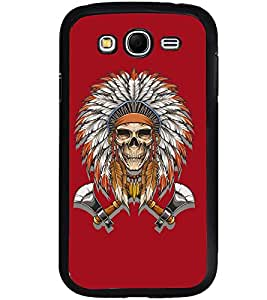 Printvisa Skull With Egyptian Head Gear Back Case Cover for Samsung Galaxy Grand Neo::Samsung Galaxy Grand Neo i9060