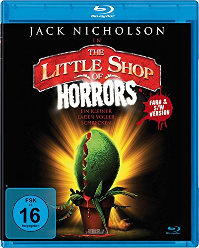 The little Shop of Horrors (Farb- und S/W-Version) [Blu-ray]