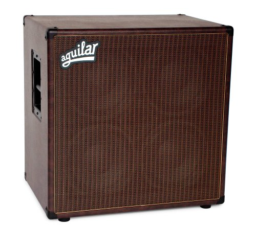 Aguilar DB 410 Bass Cabinet, 8 Ohm, Chocolate Thunder