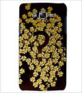 PrintDhaba LEAF PATTERN D-6313 Back Case Cover for SAMSUNG GALAXY J7 (Multi-Coloured)