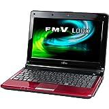 富士通 モバイルパソコン FMV-BIBLO LOOX M/D10(ルビーレッド) FMVLMD10R