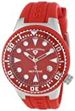 Swiss Legend Women's 11044D-05 Neptune Red Dial Red Silicone Watch