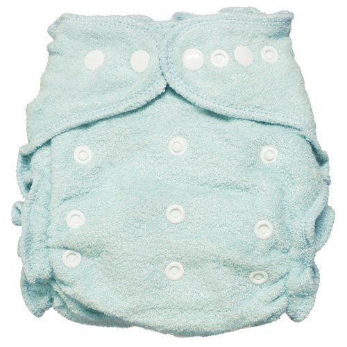 Imagine Baby Products Rayon From Bamboo Fitted Snap Diaper, Indigo