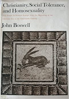 a review of same sex unions in premodern europe a book by john boswell According to john boswell, same sex unions used to be alright by the catholic church before the advent of science and such he asserts this in a book.