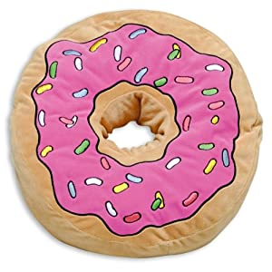 Amazon.com: The Simpsons Pillow Donut: Home & Kitchen