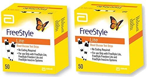50×2 Freestyle Lite Test Strips