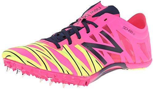 New Balance Women'S Wsd400V2 Sprint Spike Shoe,Pink/Blue,9 B Us