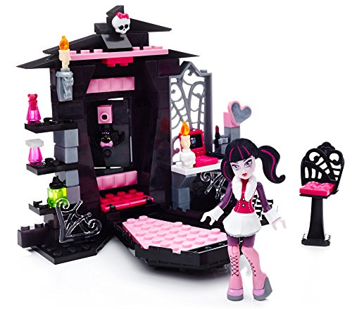Mega Bloks Monster High Draculaura's Vamptastic Room Building Set