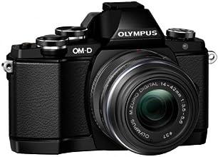 Olympus OM-D E-M10 Fotocamera Mirrorless 16 MP, Kit con Obiettivo M.Zuiko 14 - 42mm f3.5-5.6 II R, Nero