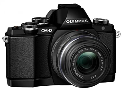 Digital Cameras OLYMPUS EM10 BLACK 16MPIXELS KIT 14-42MM