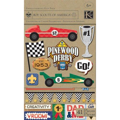 Boy Scouts Of America Pinewood Derby Flippack | K & Company