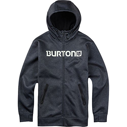 burton-mens-bonded-full-zip-hoodie-large-true-black-heather