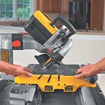 DEWALT D24000 1.5-Horsepower 10-Inch Wet Tile Saw