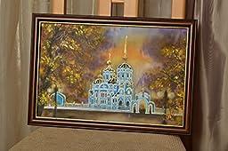 Acrylic Painting On Silk Cloth Alexander Church