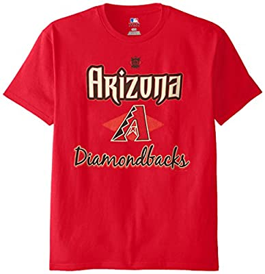 MLB Arizona Diamondbacks Men's 58T Tee, Cardinal, Medium