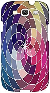 Timpax protective Armor Hard Bumper Back Case Cover. Multicolor printed on 3 Dimensional case with latest & finest graphic design art. Compatible with Samsung S3 - I9300 Galaxy S III Design No : TDZ-21830