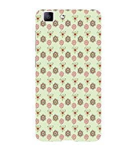 ifasho Animated Pattern design many small flowers Back Case Cover for VIVO X5 MAX