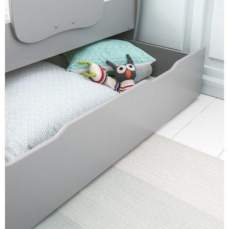 Alfred & Compagnie - Tiroir 140 gris koala pour lit évolutif Maelys