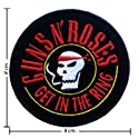 Guns N Roses Patch Music Band Logo III Embroidered Iron on Patches
