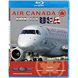 Air Canada EMB-175 USA [Blu-ray]