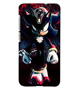 ColourCraft Angry Cat Design Back Case Cover for MICROMAX CANVAS XPRESS 2 E313