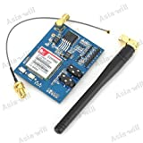 Asiawill SIM900 GSM/GPRS Minimum System Module - Blue + Black