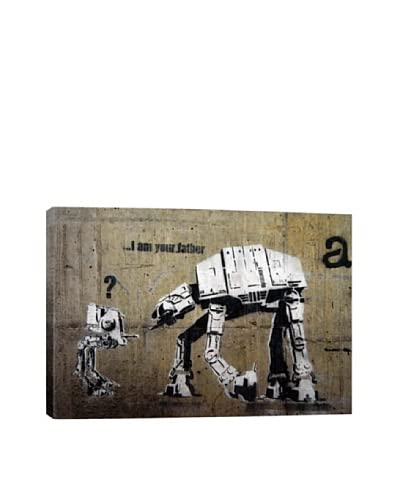 Banksy I Am Your Father Giclée On Canvas