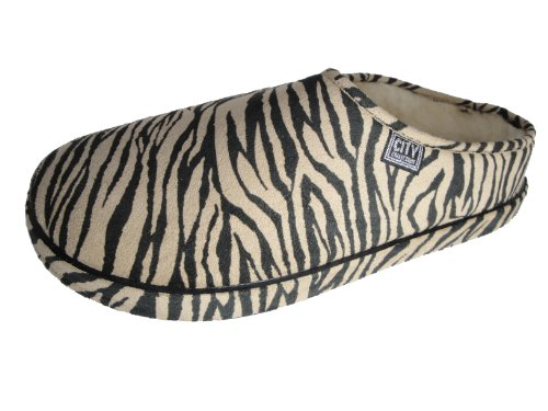Cheap Andres Machado Women's ZEBRA Scandinavians Slippers Big Size Shoes (B0049HF3XE)