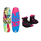 Slingshot - Pearl Wakeboard 134cm - W  Ronix Luxe Boot - Ladies (6-8.5)- 2014 by Slingshot / Ronix
