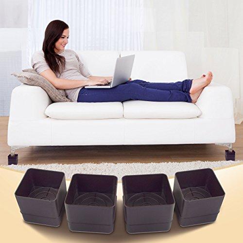 Excellent Living Furniture Risers Set Of 4 Sofa