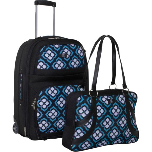 nuo-chloe-dao-21-carry-on-trolley-satchel-bundle-blue-lotus