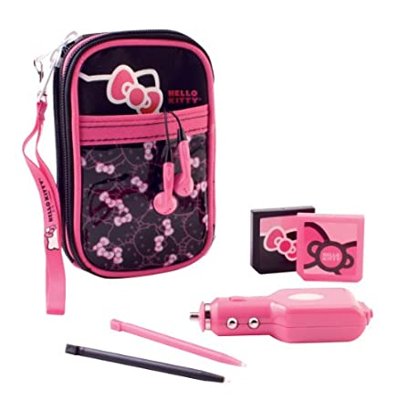 HELLO KITTY DSL-13009 Nintendo DSTM Lite Hello Kitty? Starter Pack (10-in-1)