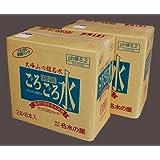 ≪送料込み価格 同梱包不可≫大峯山のごろごろ水 2Lペットボトル 1箱6本入り 2ケース