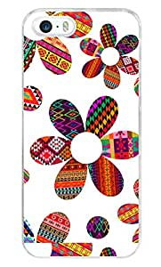 iPhone 5s Cover ,Premium Quality Designer Printed 2D Transparent Lightweight Slim Matte Finish Hard Case Back Cover for Apple iPhone 5s by Tamah
