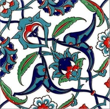 Ceramic Wall Tiles: Floral Wonder